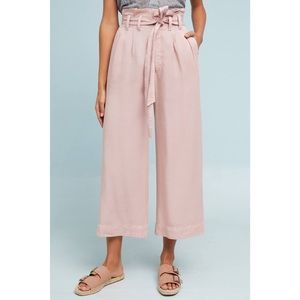 Anthropologie Pink Culotte